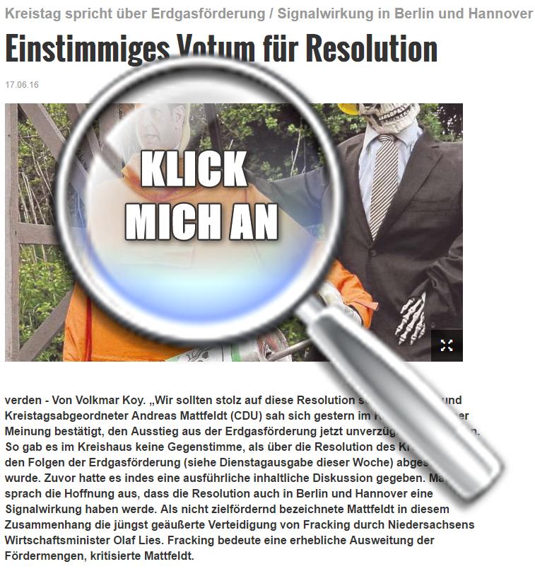 Medien-Tipp   2016 Nr. 19 ~ Kreiszeitung 17.06.2016