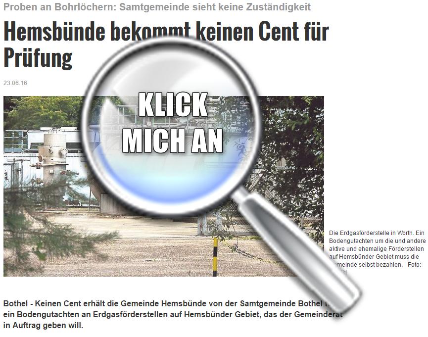 Medien-Tipp 2016 Nr. 21 ~ Kreiszeitung 23.06.2016