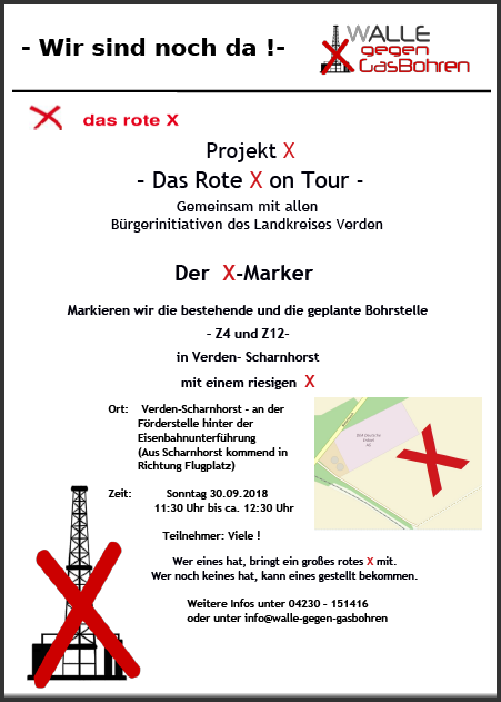 Plakat X-Marker